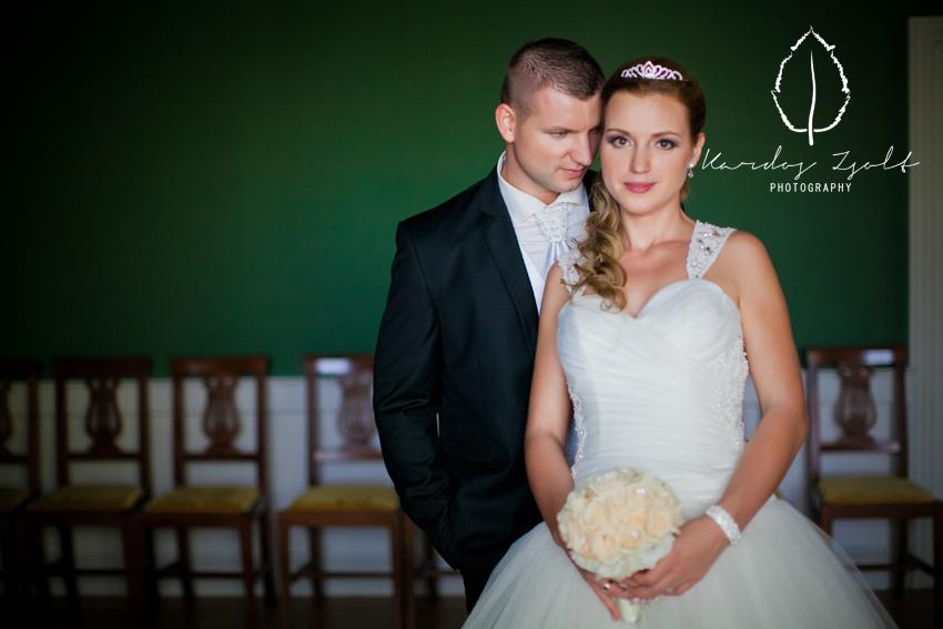 Kitti és Laci esküvője